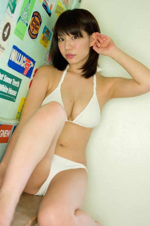 【おっぱい】ダンスユニットに所属しているFカップ巨乳グラビアアイドルの久松かおりちゃんのおっぱい画像がエロすぎる!【30枚】 17