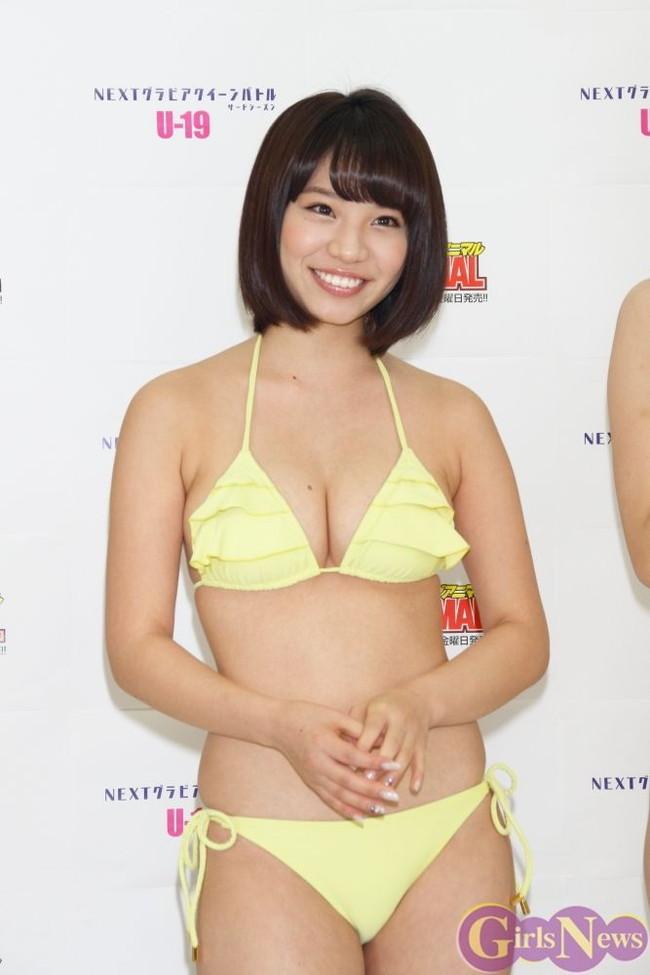 【おっぱい】ダンスユニットに所属しているFカップ巨乳グラビアアイドルの久松かおりちゃんのおっぱい画像がエロすぎる!【30枚】 22