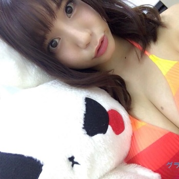 【おっぱい】ダンスユニットに所属しているFカップ巨乳グラビアアイドルの久松かおりちゃんのおっぱい画像がエロすぎる!【30枚】 28