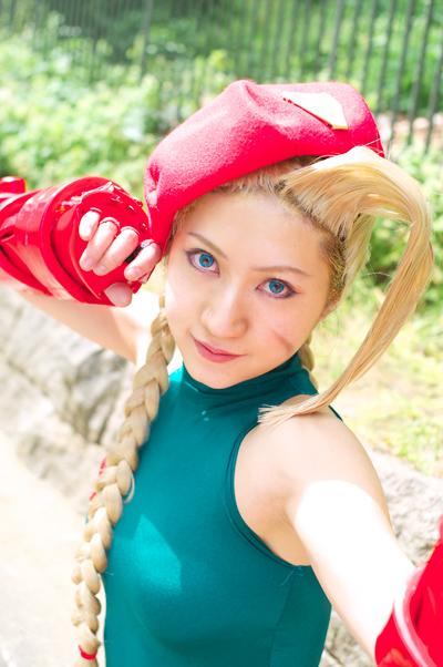 【おっぱい】『スーパーストリートファイターII』の人気キャラクター・キャミィでコスプレをしている女の子のおっぱい画像!【30枚】 08