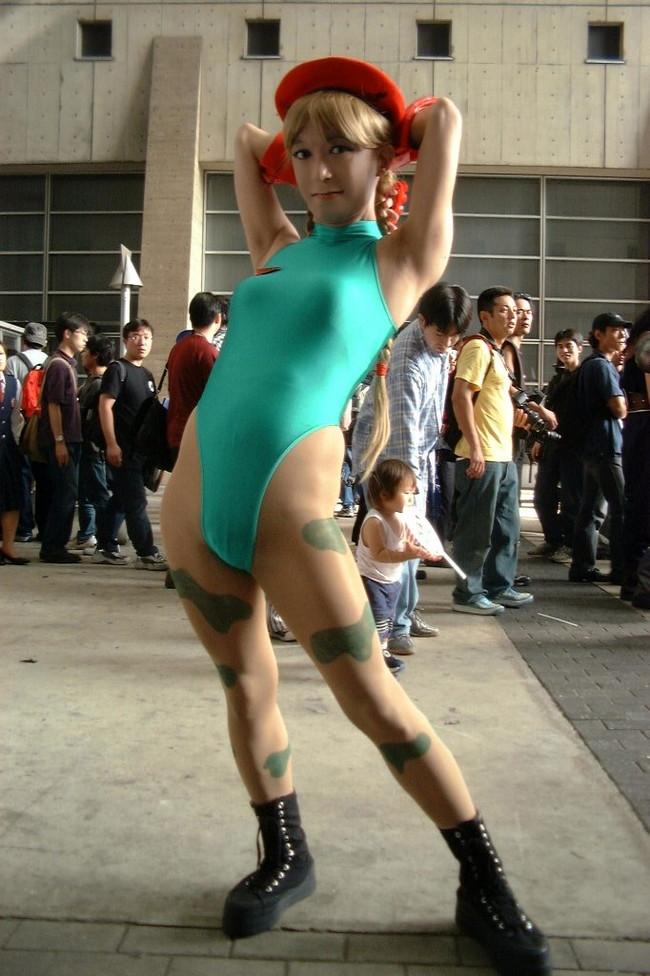【おっぱい】『スーパーストリートファイターII』の人気キャラクター・キャミィでコスプレをしている女の子のおっぱい画像!【30枚】 10