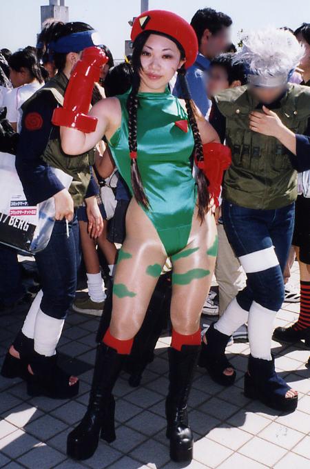 【おっぱい】『スーパーストリートファイターII』の人気キャラクター・キャミィでコスプレをしている女の子のおっぱい画像!【30枚】 22