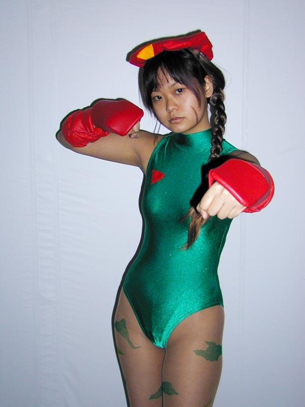 【おっぱい】『スーパーストリートファイターII』の人気キャラクター・キャミィでコスプレをしている女の子のおっぱい画像!【30枚】 26