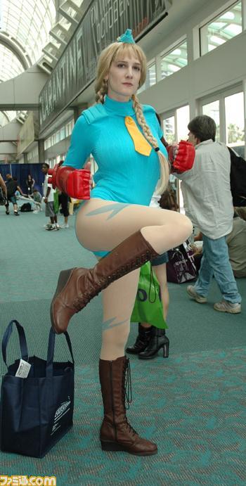【おっぱい】『スーパーストリートファイターII』の人気キャラクター・キャミィでコスプレをしている女の子のおっぱい画像!【30枚】 27