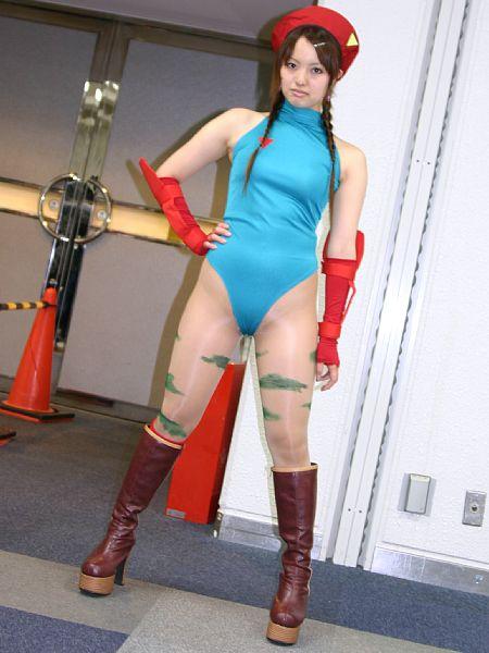 【おっぱい】『スーパーストリートファイターII』の人気キャラクター・キャミィでコスプレをしている女の子のおっぱい画像!【30枚】 28
