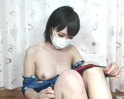 【おっぱい】かわいいは作れる!マスクで口元を隠してもおっぱいは隠さない女の子がエロすぎる!【30枚】 10