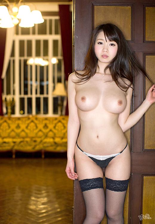 【おっぱい】夢乃あいかの触りたくなるぷるぷるおっぱいがエロすぎる!【30枚】 15