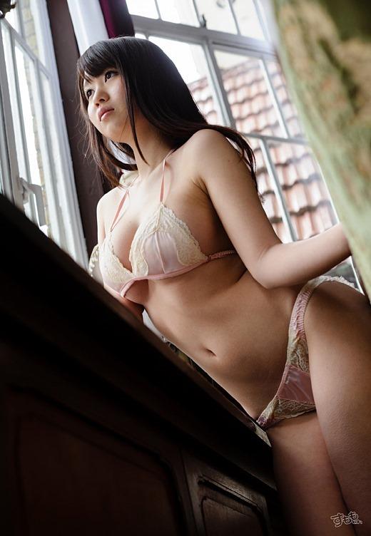 【おっぱい】夢乃あいかの触りたくなるぷるぷるおっぱいがエロすぎる!【30枚】 22