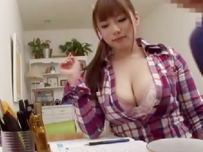【おっぱい】性教育担当の爆乳家庭教師がエロすぎる!【30枚】 09