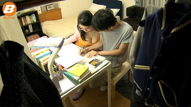 【おっぱい】性教育担当の爆乳家庭教師がエロすぎる!【30枚】 18