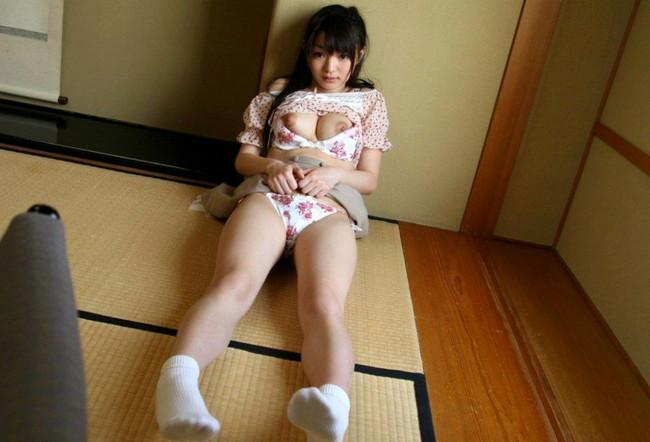 【おっぱい】日本の和・たたみとおっぱいのコラボがエロすぎる 【30枚】 23