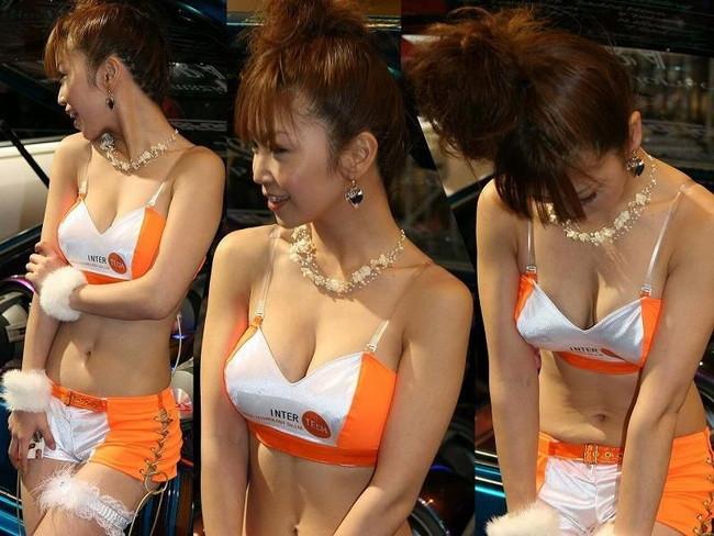 【おっぱい】キャンギャル・RQの豊満なおっぱいがエロすぎる!【30枚】 10
