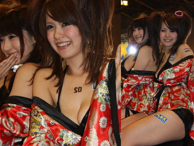 【おっぱい】キャンギャル・RQの豊満なおっぱいがエロすぎる!【30枚】 18