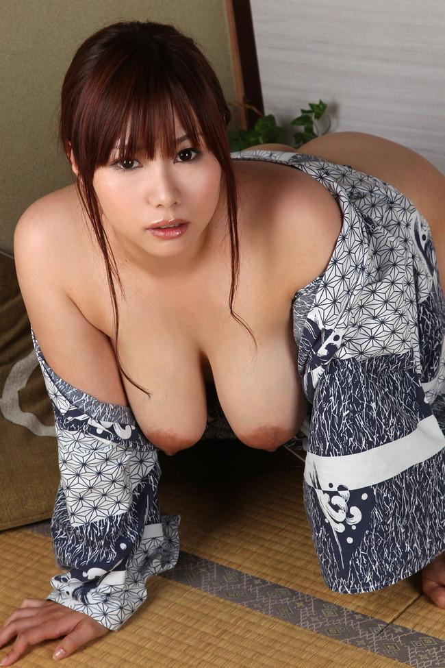【おっぱい】巨乳のお姉さんが四つん這いになって誘惑してきた!【30枚】 28