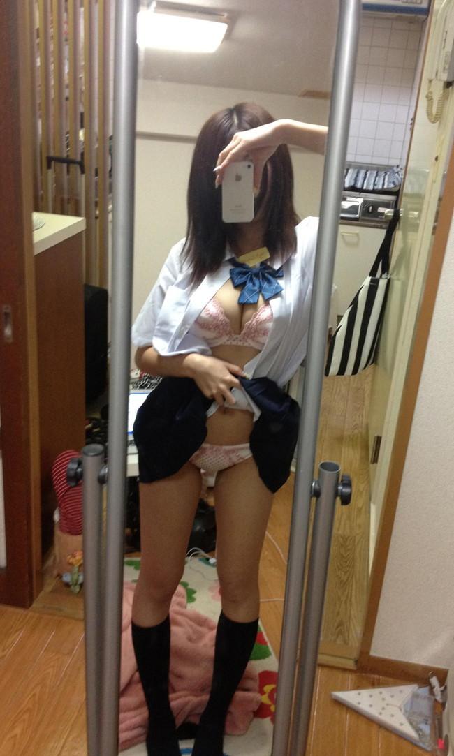 【おっぱい】ドスケベ素人さんがおっぱいを自画撮りしてきたんだがww【30枚】 23