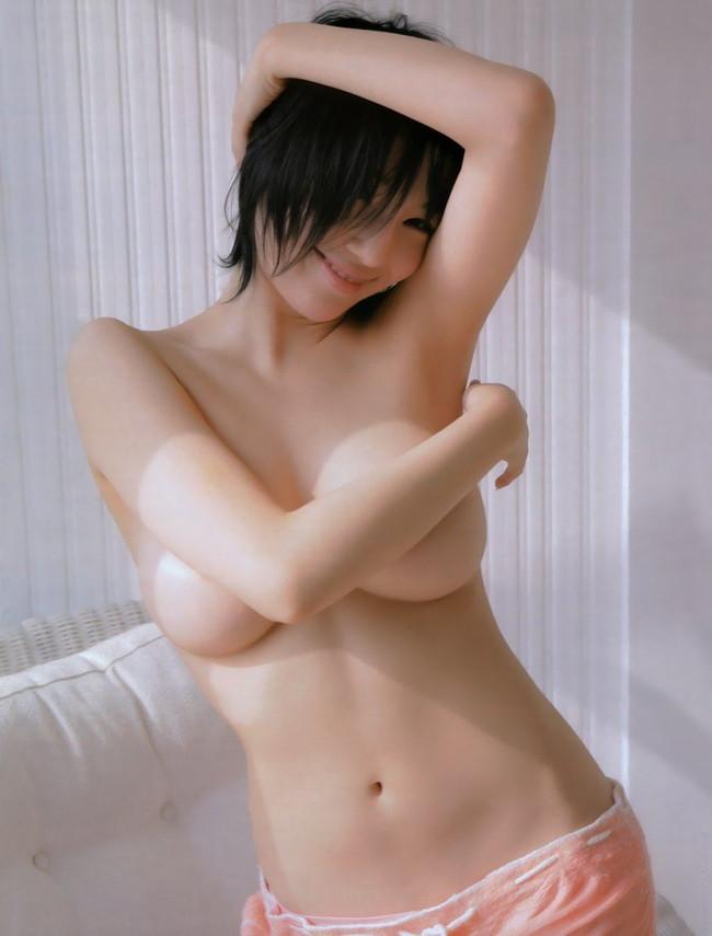 【おっぱい】j恥ずかしそうに手ブラでおっぱいを隠している女の子!【30枚】 25