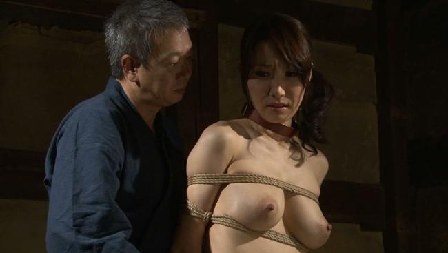 【おっぱい】紐などで縛られてしまっておっぱいが強調されてるエロ画像ww【30枚】 08