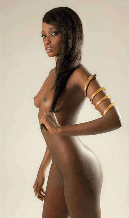 【おっぱい】黒人女性のチョコレートボディにそそられてしまうエロ画像!【30枚】 12