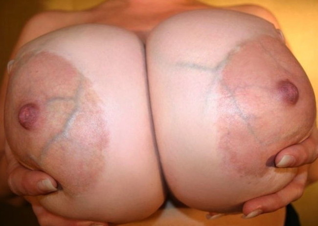 【おっぱい】巨乳輪のお姉さんがスケベすぎてたまらんエロ画像!【30枚】 10