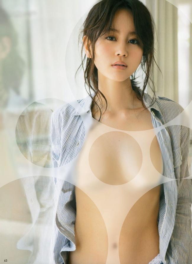 【おっぱい】水玉コラでアイドルをほぼ裸にひん剥いちゃってる微エロ画像!【30枚】 12