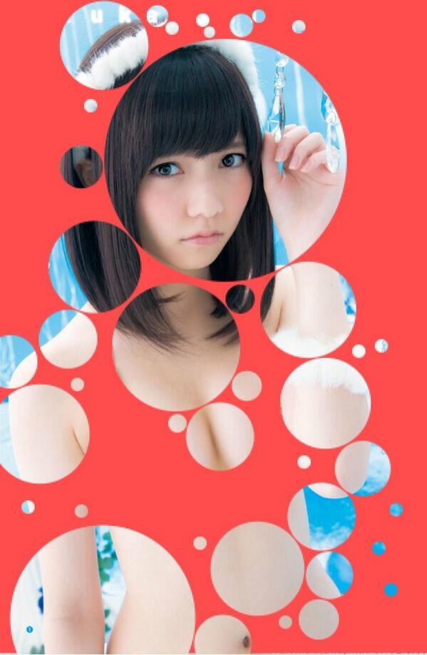 【おっぱい】水玉コラでアイドルをほぼ裸にひん剥いちゃってる微エロ画像!【30枚】 14