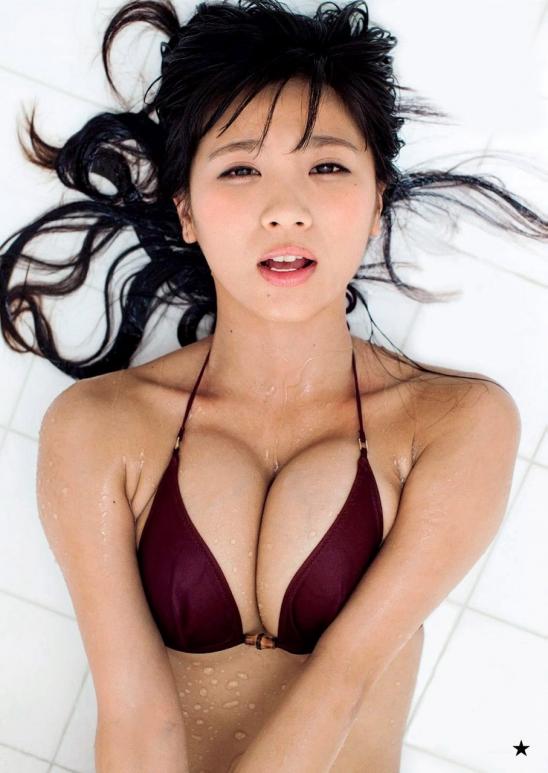 【おっぱい】Hカップの巨乳がたまらないグラビアアイドル葉月あやの微エロ画像【30枚】 16