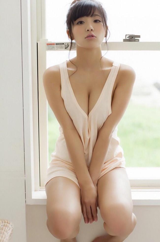 【おっぱい】Hカップの巨乳がたまらないグラビアアイドル葉月あやの微エロ画像【30枚】 26
