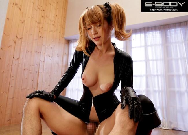 【おっぱい】様々なコスプレで誘惑しちゃうお姉さんのエロ画像!【30枚】 24
