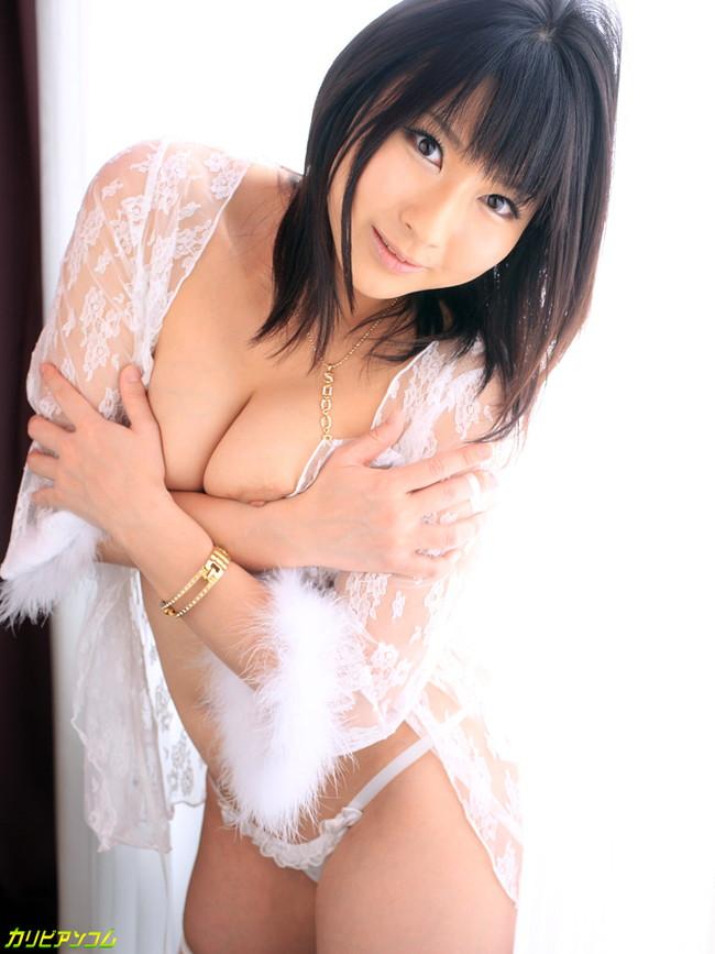 【おっぱい】ぽっちゃりとした肉感にそそられるAV女優遥めぐみのエロ画像【30枚】 12