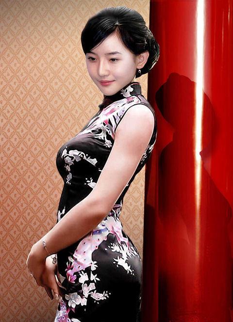 【おっぱい】おっぱいを強調しちゃうチャイナドレスのエロ画像!【30枚】 20